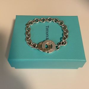Authentic Tiffany & Co Interlocking Bracelet
